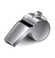 object whistle vector image vector image