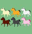 pony vector image
