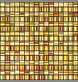 set of shiny 256 abstract gold gradient vector image vector image
