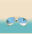 summer time banner background design vector image vector image