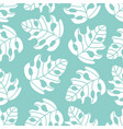abstract tropics leaves seamless pattern il vector image vector image