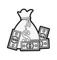 bills vector image