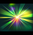 Colorful rays explosion futuristic technology vector image vector image