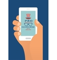 fourth july exclusive online offers sale hand vector image vector image