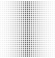halftone graye square pattern background vector image vector image