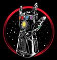 heavy metal universe vector image vector image