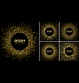 new year 2021 disco night party background set vector image vector image