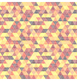 pattern geometric with triangles vector image vector image