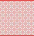 seamless pattern in geometric floral ornamental vector image