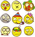 Smiley Doodle vector image vector image