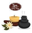 spa relax vector image vector image