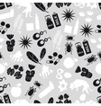 allergy and allergens gray seamless pattern eps10 vector image vector image