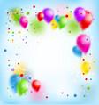 blur happy holiday vector image vector image
