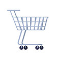 cart for purchases isolated on white background vector image