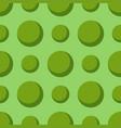 colored green circle seamless pattern shape art vector image vector image