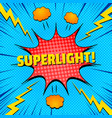 comic electric style concept vector image vector image