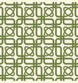 green and white kaleidoscope seamless pattern vector image