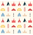 Moscow pattern colored vector image