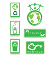 Set of recycle sign for save the world vector | Price: 1 Credit (USD $1)