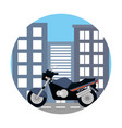 transportation concept cartoon vector image vector image