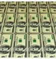 hundred dollar bills vector image