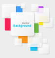 abstract background and texture with squares vector image vector image