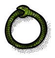 cartoon image of cycle icon process symbol vector image vector image