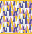 mid century retro geometric seamless pattern vector image vector image