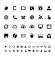 Retina communication icon set