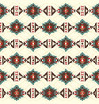 tribal art ethnic seamless pattern aztec abstract vector image
