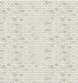 White brick wall seamless pattern vector image
