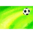 Association football commonly known as football vector image
