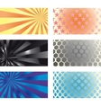 Business card set 01 vector image vector image