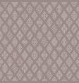 ethnic symbols pattern vector image vector image