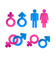 Gender symbols vector | Price: 1 Credit (USD $1)