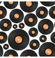 long play LP audio music media symbol seamless vector image vector image
