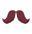 Mustache hipster fashion male isolated design icon