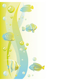abstract dreamy water background vector image vector image