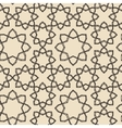 Arabic pattern vintage style Traditional east vector image vector image