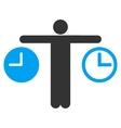 Compare Time Icon vector image