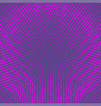 halftone dots background ultra violet dots on vector image vector image