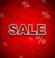 SALE Discount Background vector image vector image