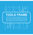 tools frame 1 vector image vector image