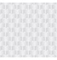 white seamlees pattern vector image