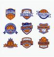 basketball1 vector image vector image