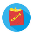 chips vector image