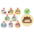 choosing right house for living compare different vector image vector image
