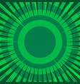 comic abstract green concept vector image