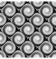 Design seamless spiral movement geometric pattern vector image vector image