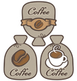 label for coffee vector image